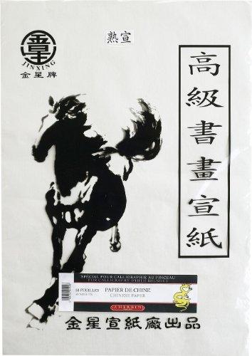 J.Herbin 90900T Chinesisches Papier Pack mit 50 Bögen, 36 x 52 cm