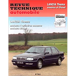 Revue technique automobile, N°81.9 Lancia Thema 84-93