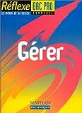 Image de Gérer Bac professionnel commerce, mémo numéro 39
