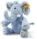 Steiff Soft Cuddly Friends Earz Elefant Kuscheltier, blau