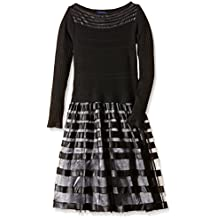 TANTRA Dress with knitted body and lace skirt - Vestido para mujer