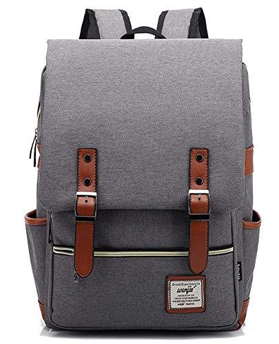 YX [65] Unisex Vintage Buch Tasche Mode Reise Daypack Casual Business College Laptop Rucksäcke Männer Frauen Arbeit MacBook Tablet - -