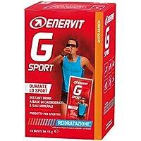 Enervit G Sport Gusto Arancia Integratore Alimentare 10 Bustine