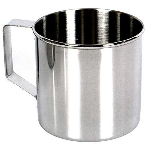 Relags Zebra' Edelstahlbecher Becher, Silber, 0.25 Liter