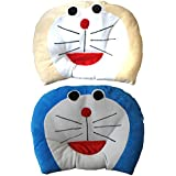 New Born Baby Soft Pillow For Baby Head Shaping Doraemon Soft Toys Shape Takiya, Children'S Neck Support Pillow, Soft And Plush Cotton Baby Pillow For Easy Washing Feeding & Nursing Baby Neck Pillow (0 To 12 Month's)