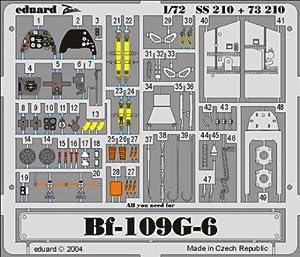 Eduard Accessories SS210 Bf-109G-6 Accesorio para maquetas