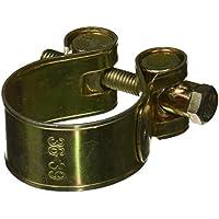 Sourcingmap - 36 millimetri a pin a forma di t 39 millimetri per fascette per tubi colore ottone e oro