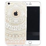 ARTLU® Neue Modelle TPU Silikon Schutz Handy Hülle Case Tasche Etui Bumper für Apple iPhone 6 plus 6S plus - Henna Series Apple W6