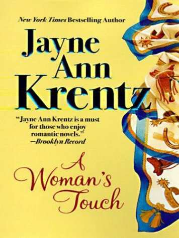 Woman's Touch (Thorndike Large Print Fam (Thorndike Large Print Famous Authors Series)