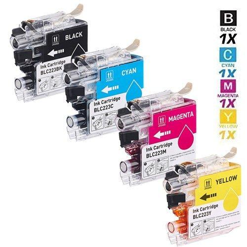 Preisvergleich Produktbild 4 SCHNEIDERPRINTWARE TINTENPATRONEN ( 38 PROZENT höhere DRUCKLEISTUNG) als Ersatz für LC223BK,  LC223C,  LC223M,  LC223Y für BROTHER DCP-J4120DW BROTHER DCP-J562DW ,  MFC-J1100 ,  MFC-J1140W ,  MFC-J1150DW ,  MFC-J1170DW ,  MFC-J1180DWT ,  MFC-J4420DW ,  MFC-J4425DW ,  MFC-J4620DW ,  MFC-J4625DW ,  MFC-J480DW ,  MFC-J5320DW ,  MFC-J5600 ,  MFC-J5620DW MFC-J5625DW ,  MFC-J5720DW ,  MFC-J680DW ,  MFC-J880DW