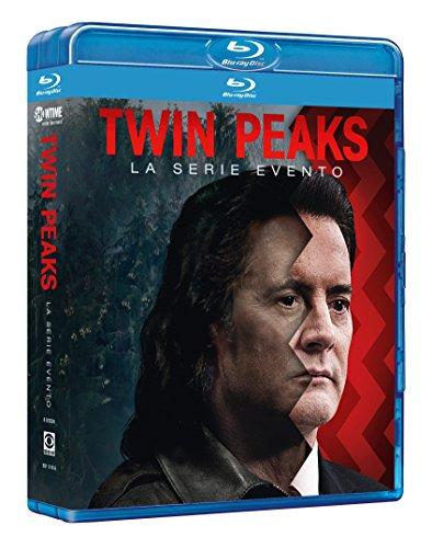 twin peaks (2017) (8 blu-ray) box set BluRay Italian Import