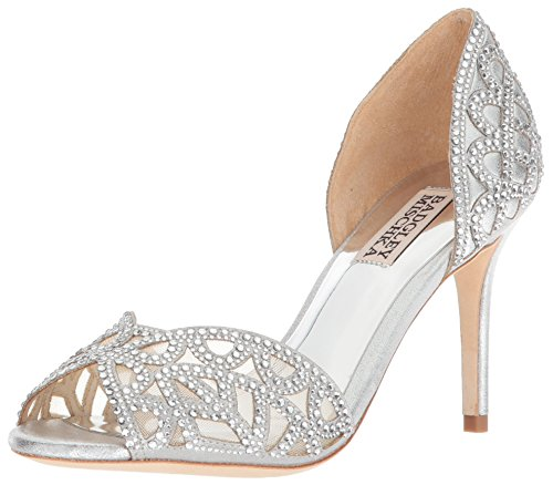 Badgley Mischka Damen Harris, Silber, 38.5 EU Badgley Mischka Bridal