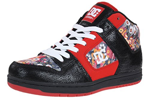 DC Shoes MANTECA 2 Mid SE Women Damen Sneaker schwarz rot Schwarz