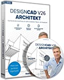 FRANZIS DesignCAD 3D MAX V26 Architekt Software|Architekt|3 Geräte|-|Für Windows PC|Disc|Disc