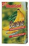 Wesergold Bananen- Fruchtsaftgetränk, 12er Pack (12 x 1 l Packung)
