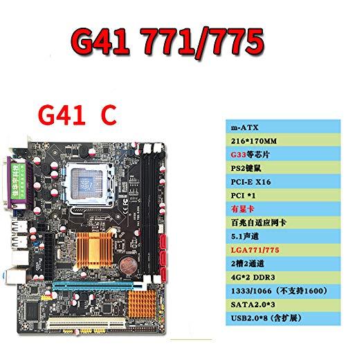 RONSHIN G41 - Placa Base sobremesa Intel LGA771/775