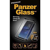 PanzerGlass 7114 - Protector de pantalla para Samsung Galaxy S8, color negro