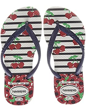 Havaianas Slim Fashion, Chanclas Para Niñas