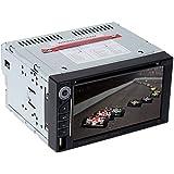 KKMOON 6.2 pouces Double Din voiture DVD universel/ USB / SD Lecteur multimédia HD Bluetooth Radio Divertissement de voiture Belle UI Design