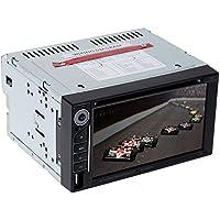 KKmoon MCX-6950 Radio multimedia para coches de 7 pulgadas, 2 DIN, reproductor de DVD con monitor, sintonizador de MP3, pantalla táctil, Bluetooth, MP4, DVD, VCD, CD