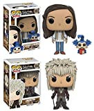 Funko POP! Labyrinth: Sarah w/ Worm And Jareth - Stylized Vinyl Figure Set NEW