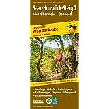 Saar-Hunsrück-Steig 2, Idar-Oberstein - Boppard: Leporello Wanderkarte mit Ausflugs-, Einkehr- und Freizeittipps, Entfernungen, Etappen und ... reißfest, abwischbar, GPS-genau. 1:25000