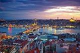 Istanbul Türkei Skyline Bild XXL Wandbild Kunstdruck Foto