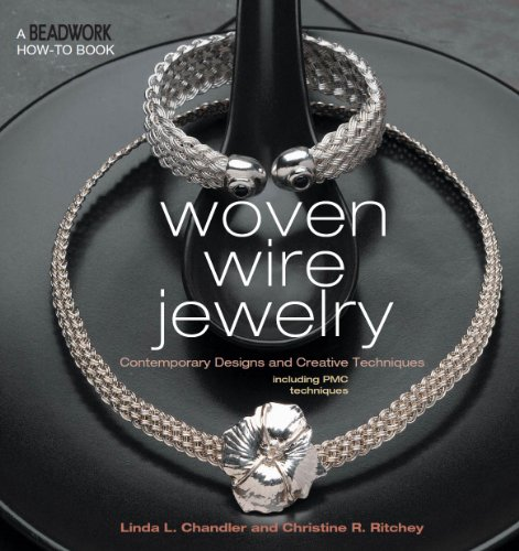 Woven Wire Jewelry: Contemporary Designs and Creative Techniques (Beadwork How-To) (English Edition)