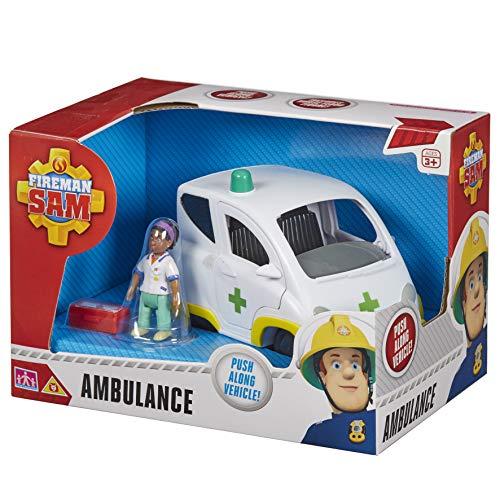 Fireman Sam - Coche de juguete Sam el bombero (3601)