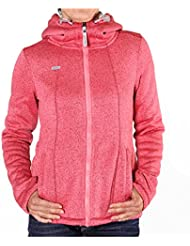 Ragwear Renne Hooded Sweat Jacket Pink Melange