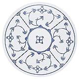 Kahla Blau Saks Speiseteller, Teller, Porzellan, Blau Saks, 26 cm, 453403A75019H