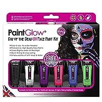 PaintGlow Halloween Face UV Paint Horror Liquid Latex Kits -