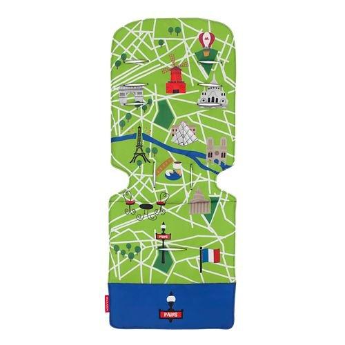 Coussins de confort Paris City Map