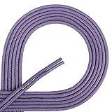 Di Ficchiano Lacets ciré ronds premium Ø 2–3mm, longueur 45–120cm, indéchirable 60 cm Violettblau