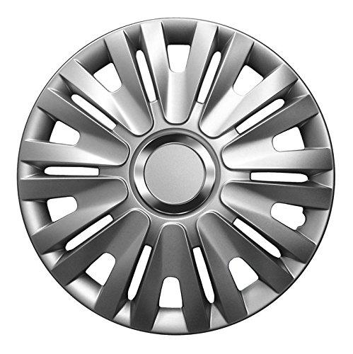 14 Zoll Radkappen DELTA (Silber) passend für fast alle Fahrzeugtypen