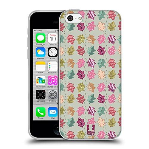 Head Case Designs Bamboo Floreale Lacche Cover Morbida In Gel Per Apple iPhone 7 Plus / 8 Plus Floreale