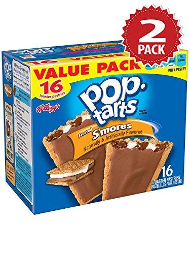 Kellogg's Pop-Tarts 2er Pack - Frosted S'mores (32 Stk - 2x851g) (S Mores Pop Tarts)
