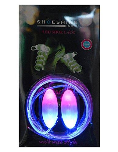 Shoeshine India Multi-Coloured LED Shoe Lace