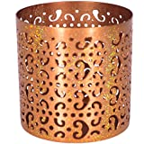 Rustik Craft Elegant Style Moroccan Metal Tea Light Votive For Home Decor, 90 Grams, H-3.3 Inch, DIA- 3 Inch