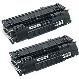 N.T.T.® 2x Kompatibel zu HP Q5949X & Canon Lasershot LBP-3300, I-Sensys LBP-3300, I-Sensys LBP-3360, Lasershot LBP-3360, LBP-3300, LBP-3360, HP LaserJet 1320, LaserJet 1320 N, LaserJet 1320 TN, LaserJet 1320 NW, LaserJet 3390, LaserJet 3392 schwarz