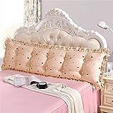 Blumengroßes Rückseitiges Kissen-langes Kissen 100% Baumwolle Für Doppeltes Bett,E-120cm