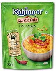 Kohinoor Xpress Eats, Ready-to-Eat Dal Tadka, 300g Microwave Pack