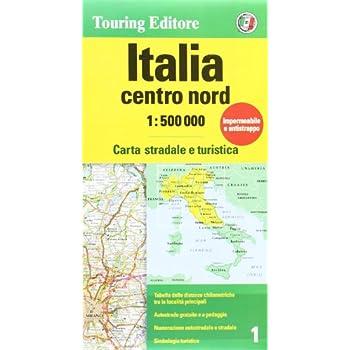 Italia 1:500.000 Centro Nord