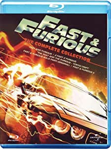 Fast & Furious 1-5 Box Set [Blu-ray] [2011] [Region Free]