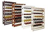 Weinregal für 56 Flaschen [Weinregal-Bestseller]