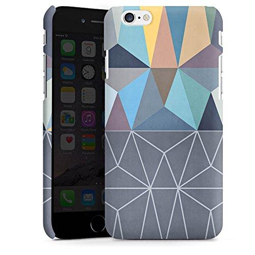 Apple iPhone X Silikon Hülle Case Schutzhülle Muster Grafisch Abstrakt Premium Case matt