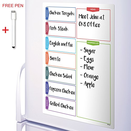 ckb-ltdr-colour-shopping-magnetic-fridge-board-with-marker-white-board-pen-drywipe-magnet-whiteboard
