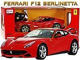Rastar Modellauto Car Fahrzeug, Ferngesteuertes Auto Ferrari F12 Berlinetta 1:14 inkl. Fernsteuerung