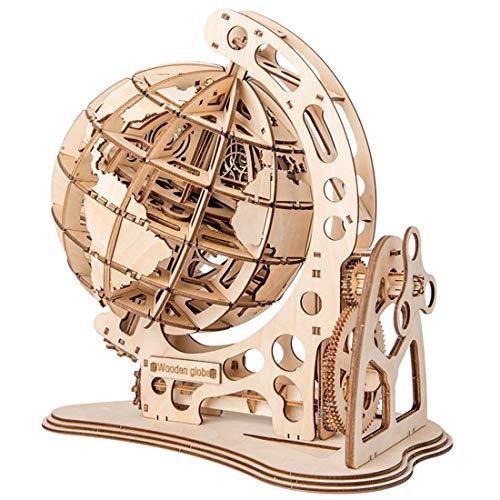 ROKR Kit da costruzione in marmo Giocattolo modello di montagne russe puzzle 3D