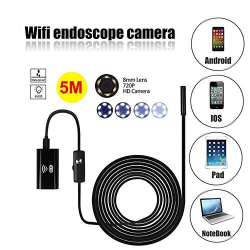 OTO WiFi Endoskop - Computer einstellbares LED-Licht wasserdicht - für Computer Ios/Android/Windows/Mac - 2 Millionen Pixel (Faser-optik-kamera-android)